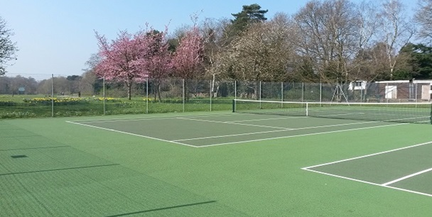 Tennis Courts at Calthorpe Park